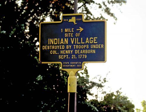Battlefields Of My Ancestors-Indian Village 2015