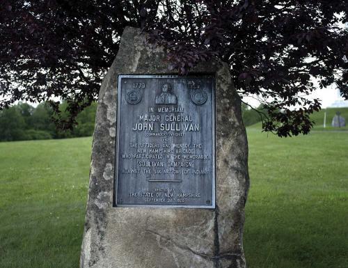 Battlefields Of My Ancestors-John Sullivan Memorial